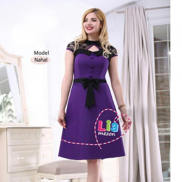لباس مجلسی دخترانه عروسکی مدل نهال
